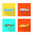 travel and airways icon vector image vector image