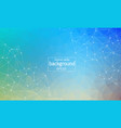 abstract multicolor polygonal space background vector image vector image