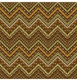 african style chevron pattern vector image vector image