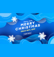 christmas decorative composition with with liquid vector image vector image