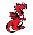 cute dragon vector image