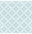 Geometric floral pattern in retro style vector image