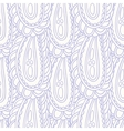 Hand drawn seamless pattern in pastel color vector image