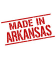 made in arkansas stamp vector image vector image