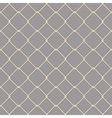 Nautical rope seamless fishnet pattern on gray vector image vector image