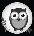 NIGHT OWL vector image vector image