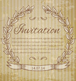 page decoration template vintage frame vector image vector image