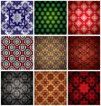 wallpaper collection vector image vector image