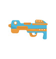 colorful toy gun handgun pistol for kids game vector image