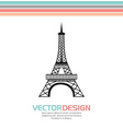European monument design vector image