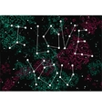 Phrase I love you in a form of constellation vector image vector image