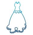 womens beautiful dress vector image vector image