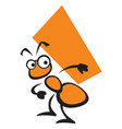 ant the builder vector image