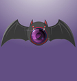 Bat Night Camera Vision Symbol vector image vector image