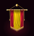 flag of spain without coat of arms festive vector image vector image
