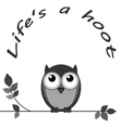 Hoot vector image vector image