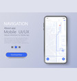 material design ui ux screen flat web icons for vector image