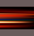 red abstract speed motion blur of night lights