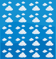 sky with clouds design vector image vector image