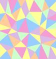 Triangular pastel background