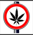 weed vector image