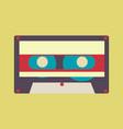 audio tape vector image