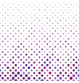 abstract dot pattern - snowfall background vector image vector image