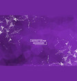 Abstract purple geometric polygonal background