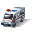 An emergency vehicle vector image