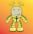 cartoon humanoid alien or robot
