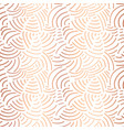 elegant copper foil abstract pattern curved lines vector image vector image