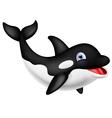 Funny Orca cartoon vector image vector image