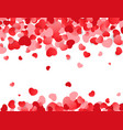 love background valentines day texture with red vector image vector image