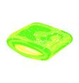 mint gum icon cartoon style vector image