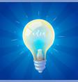 set of bulb vector image