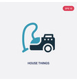 two color house things icon from tools and vector image vector image