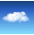 lonley cloud vector image vector image