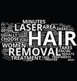 areas of the body that can be treated with laser vector image vector image