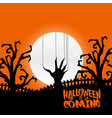 happy halloween with light background vector image vector image