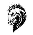 heraldic horse imperial heraldry emblem vector image vector image