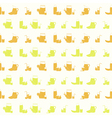 Seamless pattern with Fruit Juice Icons vector image