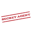 Secret Agent Watermark Stamp vector image vector image