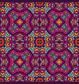 abstract colorful geometric ethnic seamless vector image