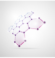 Abstract molecular structures vector | Price: 1 Credit (USD $1)