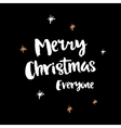 Christmas and winter theme poster vector image vector image
