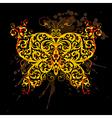 floral line9 02 2 vector image