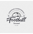 Football Soccer tournament championship league vector image