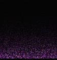 purple geometric dot pattern background - design vector image