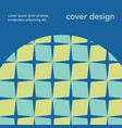 trendy abstract geometry banner template vector image vector image