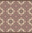 vintage medallion mandala ornamental pattern vector image vector image
